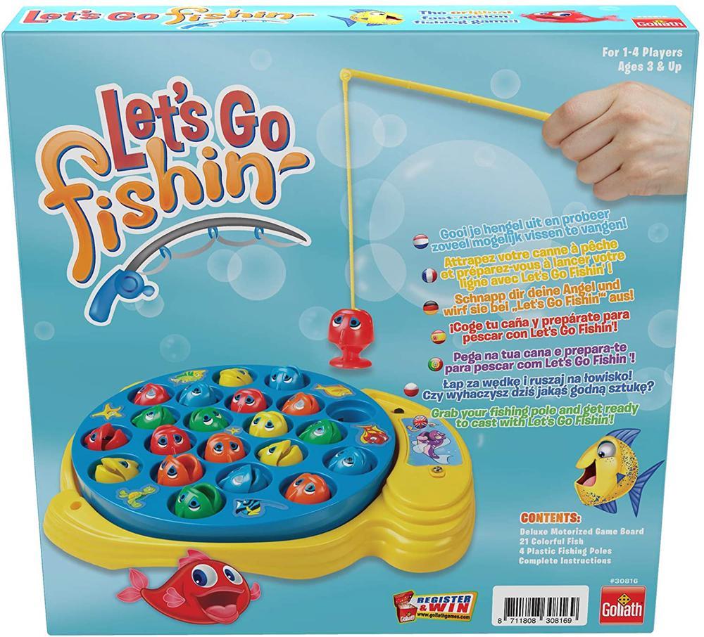 Game Let's Go Fishin' - Deluxe Bilingual version
