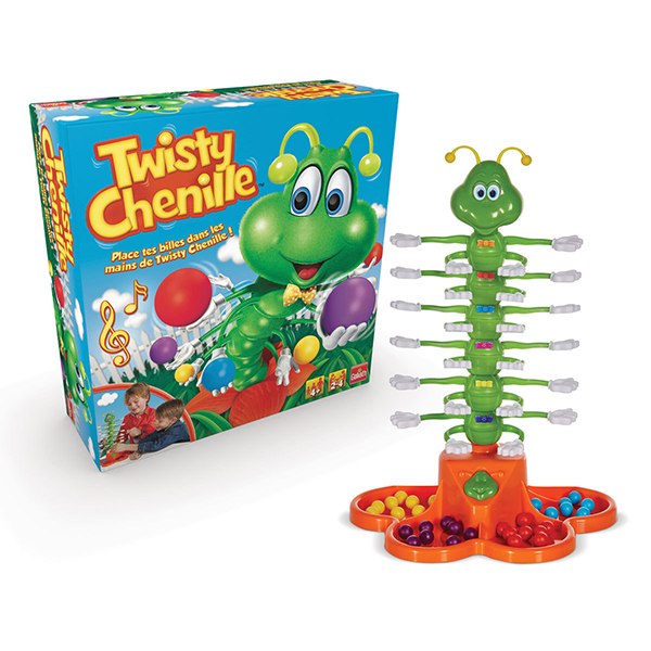 Game Twisty Chenille French version