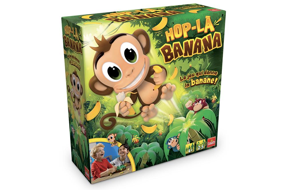 Hop-La Banana Game French version