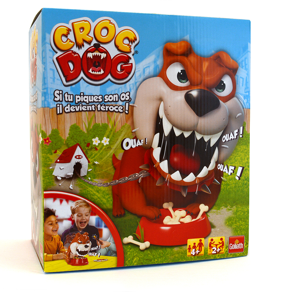 Game Croc Dog French version