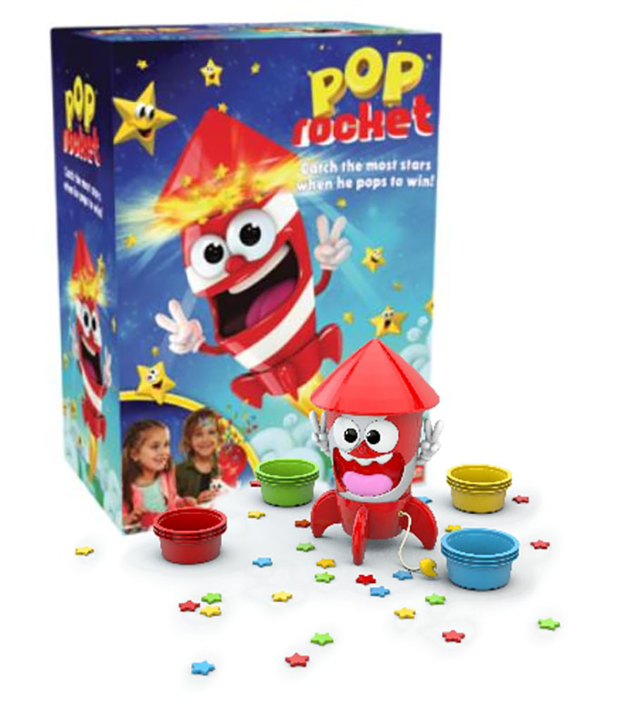 Game Pop Rocket Bilingual version