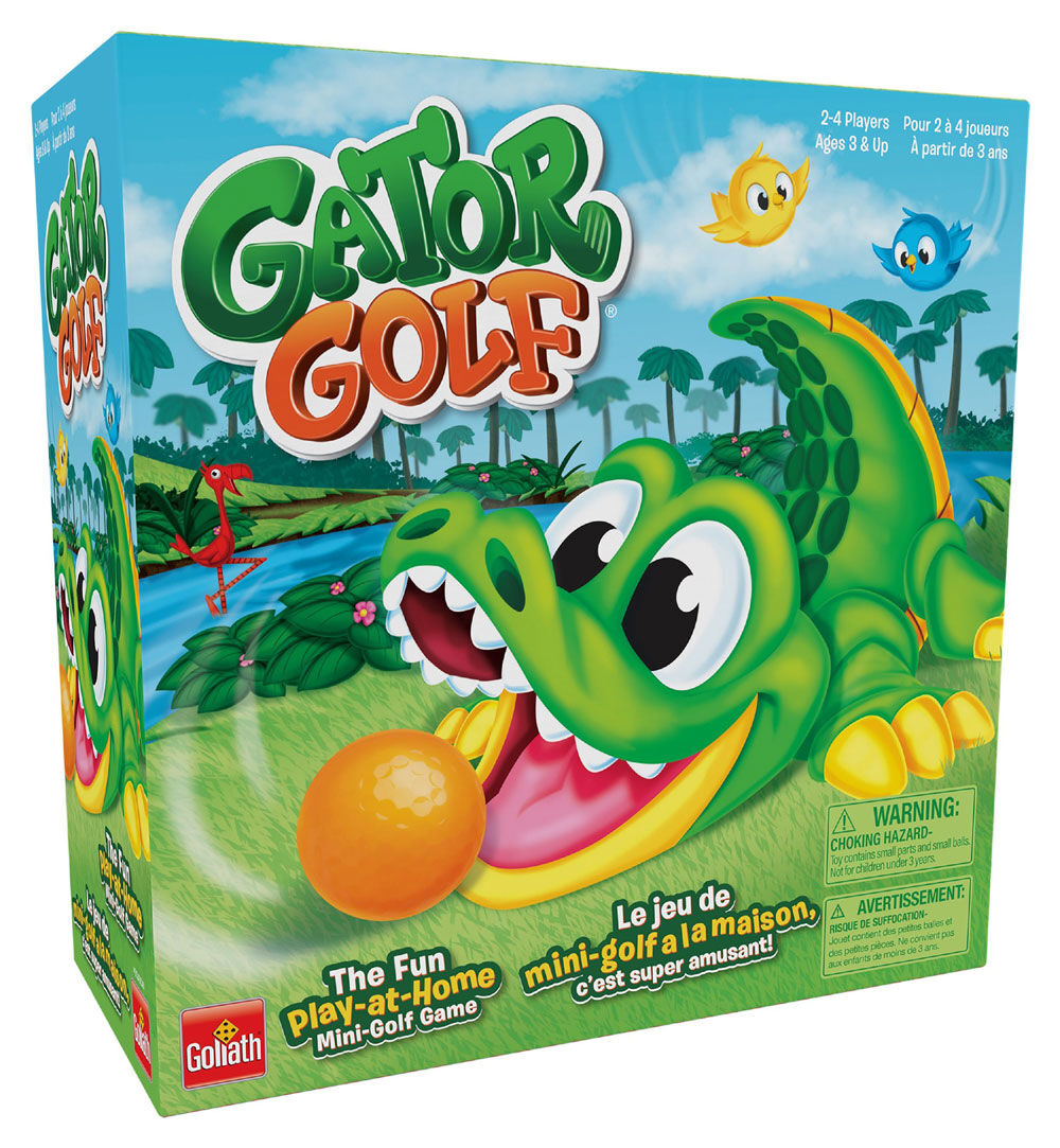 Game Gator Golf Bilingual version