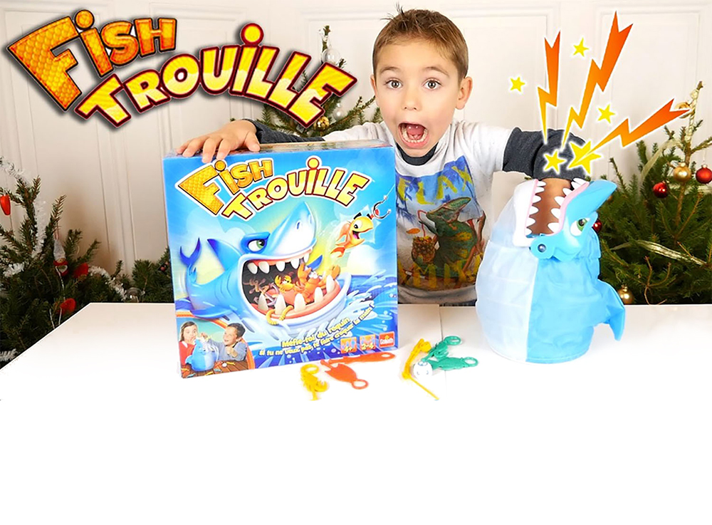 Jeu Fish Trouille