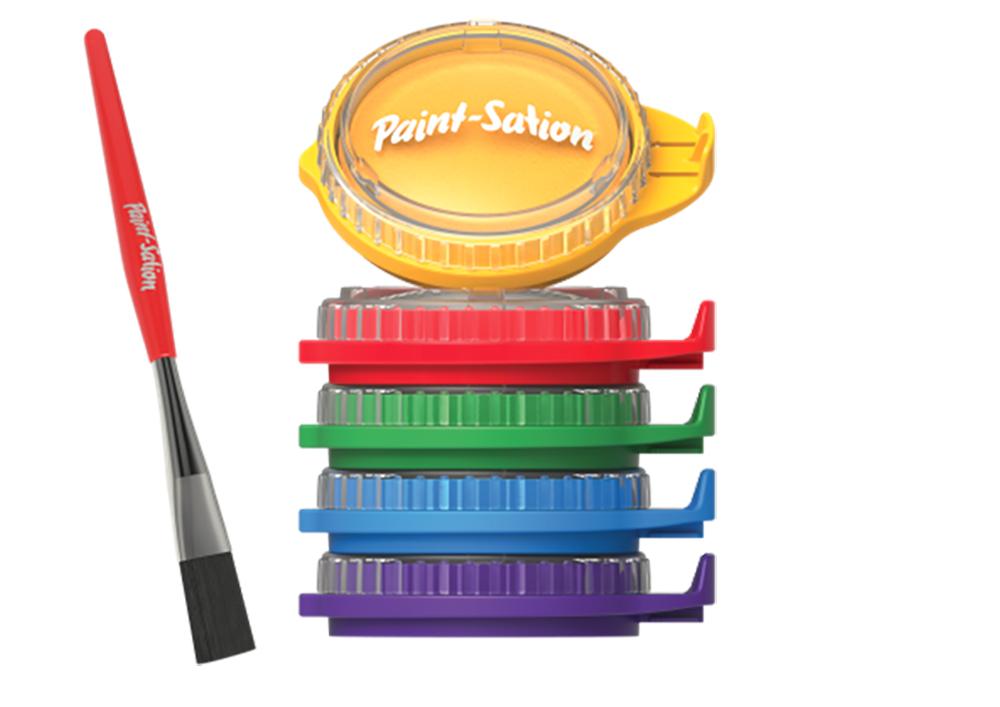 Paint-Station 5 pots de peinture empilables
