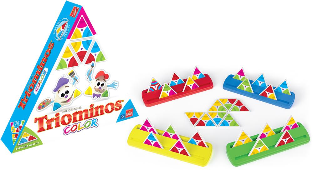Game Triominos - Color