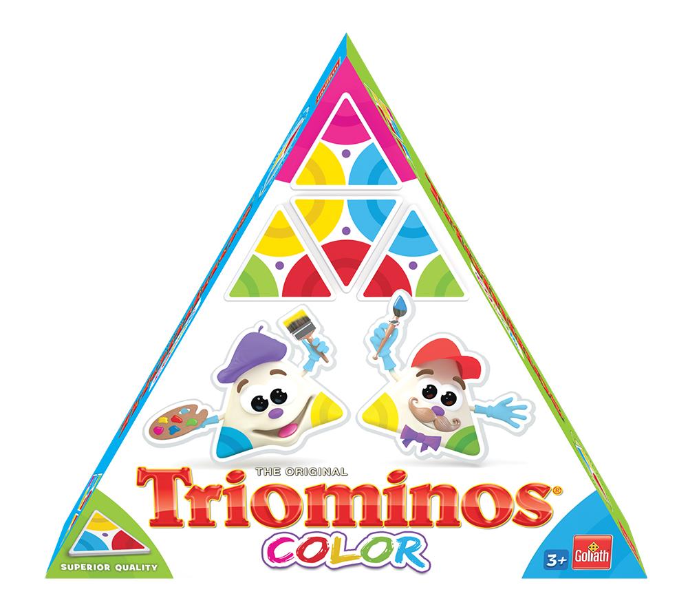 Jeu Triominos couleur