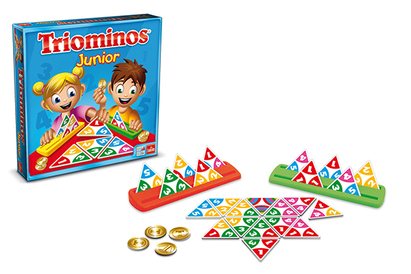Game Triominos Junior French version