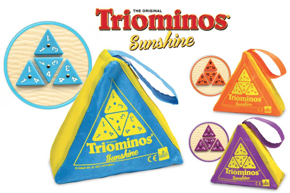 Game Triominos Sunshine assortis