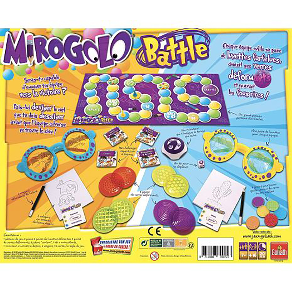 Game Mirogolo Battle French Version