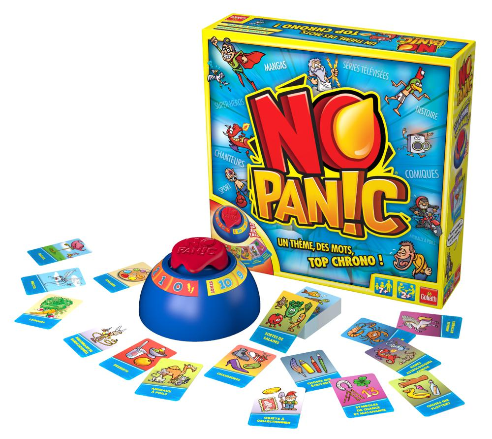 Game No panic Famlly French version