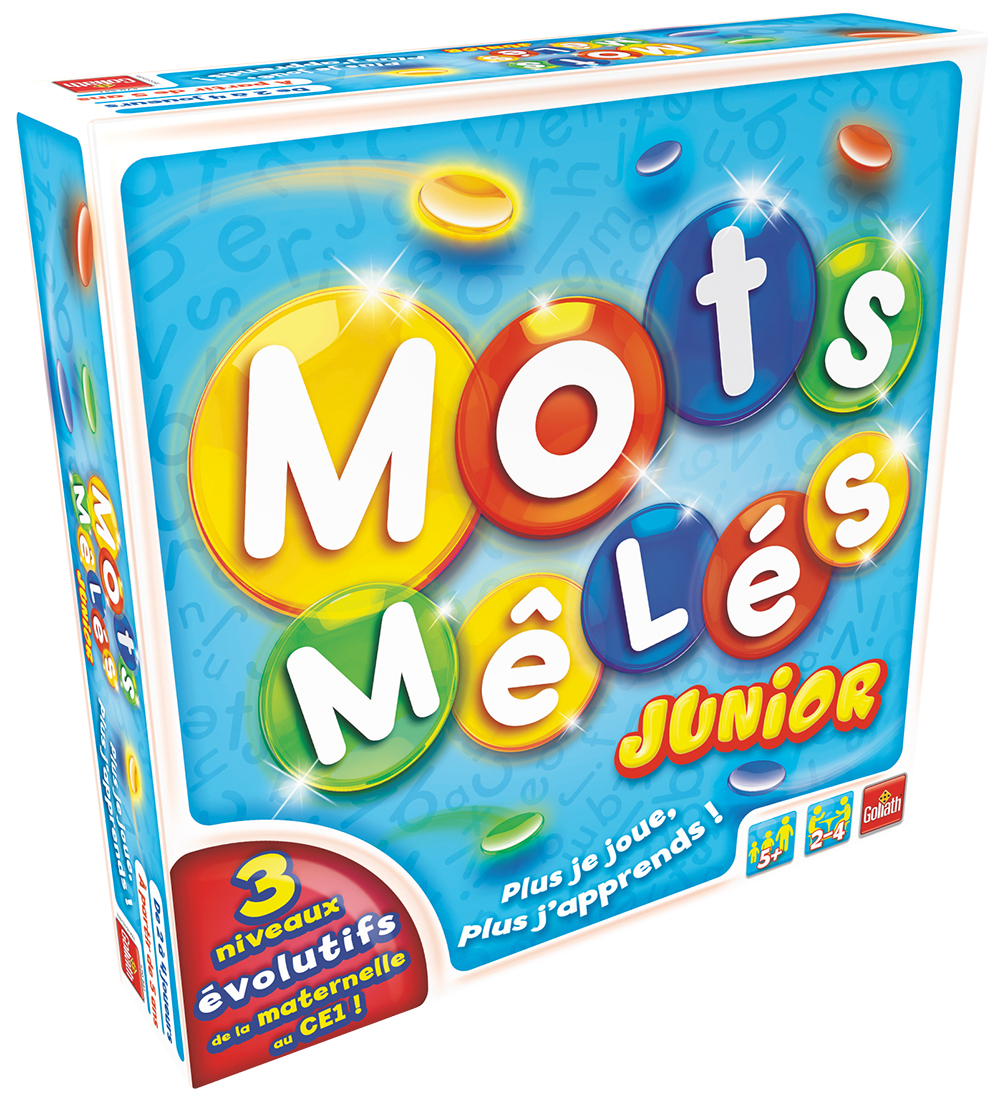 Game Mots Mêlés Junior French version
