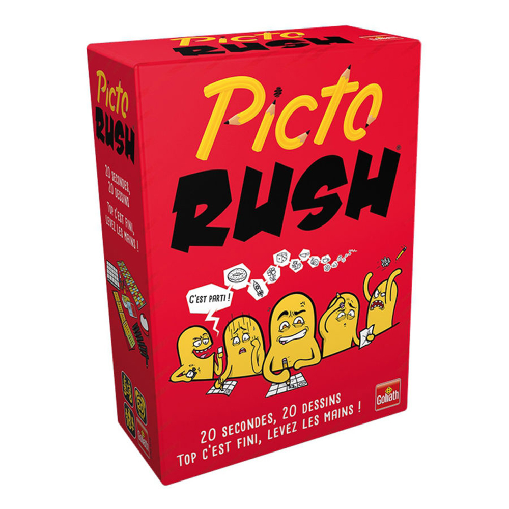 Game Picto Rush French version