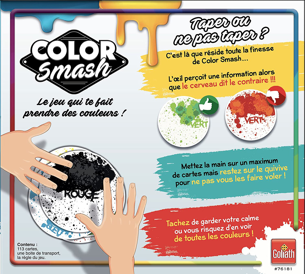Game Color Smash French version