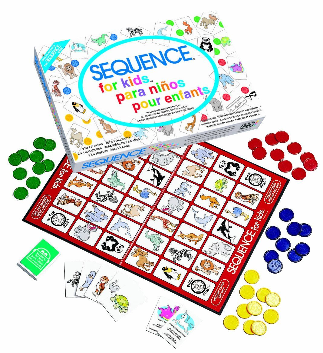 Game Sequence for Kids Trilingual