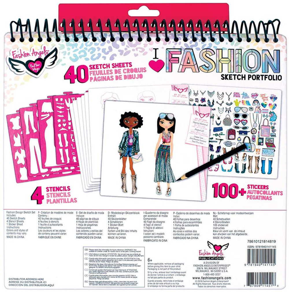 Fashion Angels- Fashion Design Sketch Portfolio