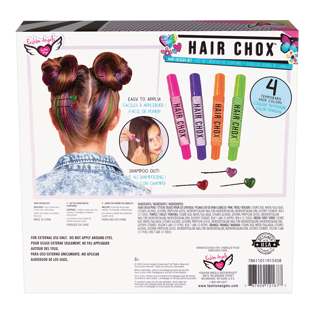 Fashion Angels- Unicorn Magic Hair Chox Set
