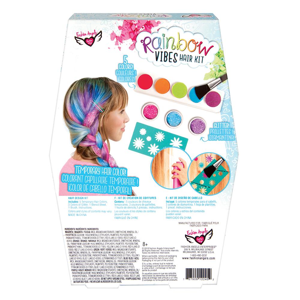 F.Angels-Rainbow Vibes Hair Design Set