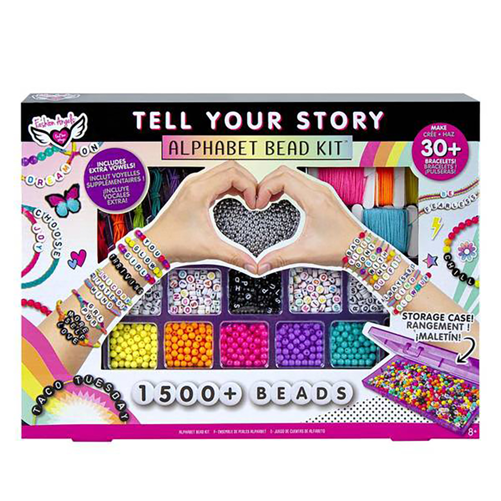 Fashion Angels - Tell Your Story Alphabet Bead Set 1500+