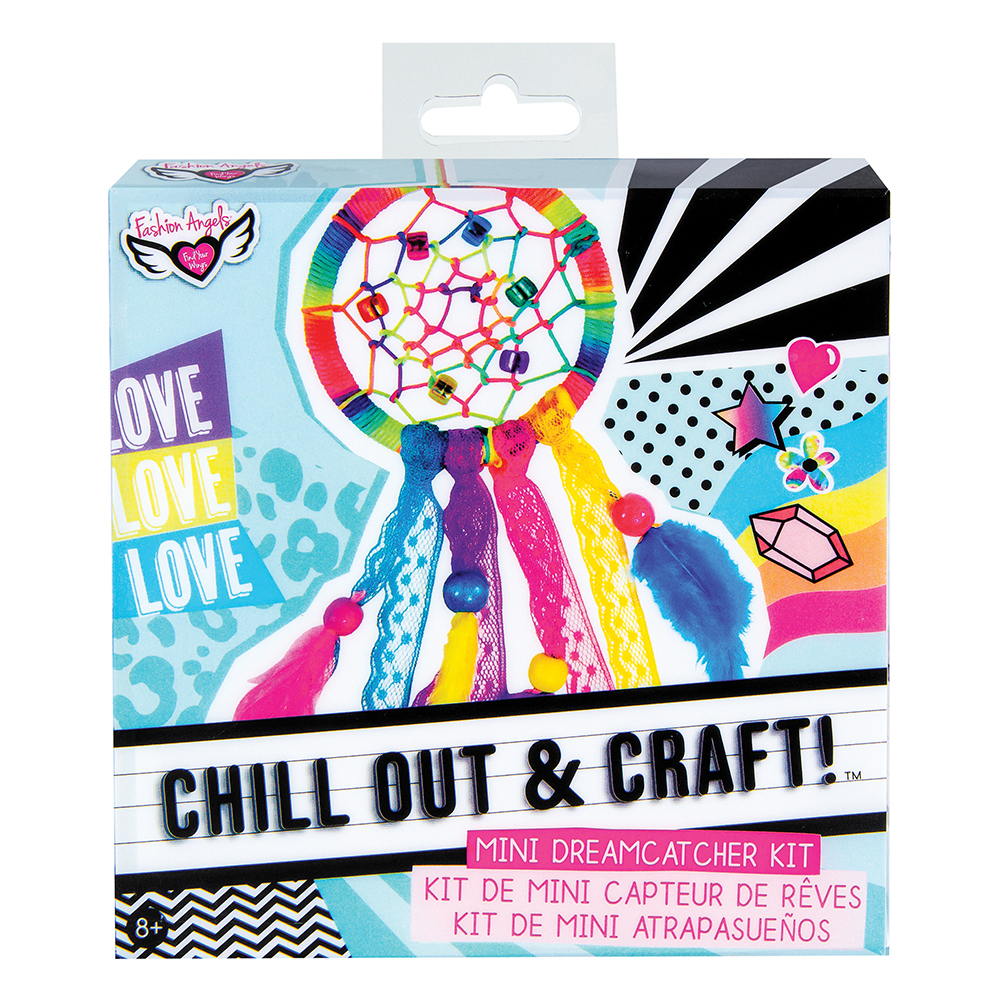 Fashion Angels- Chill out&Craft! Mini Dreamcatcher Kit