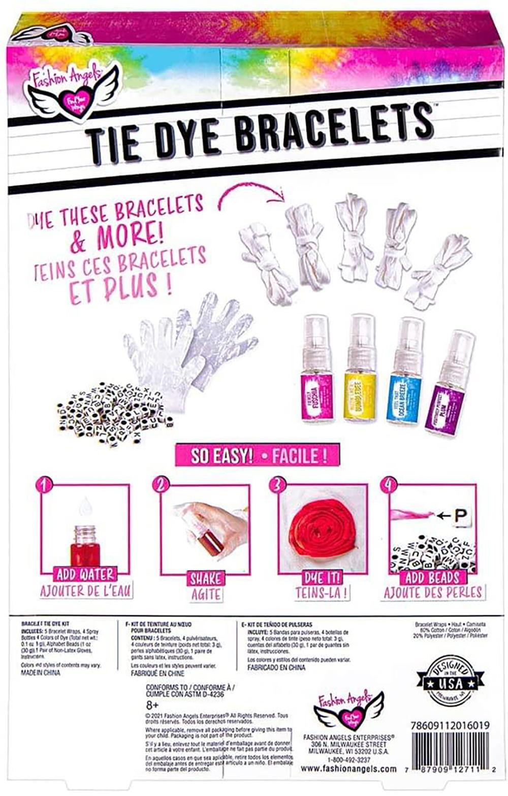 Fashion Angels - Tie Dye Bracelet Kit