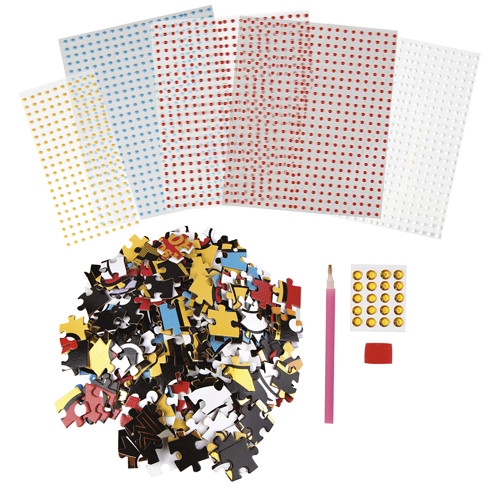 Fashion Angels - Minnie mouse crystalize it! DIY puzzle design kit