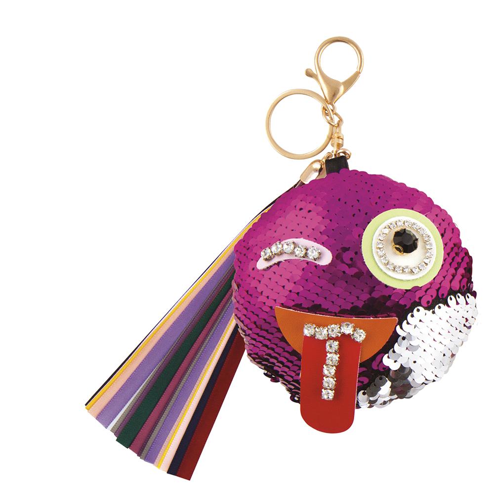 Fashion Angels- S.Lab Jeweled Emoji Bag Charm