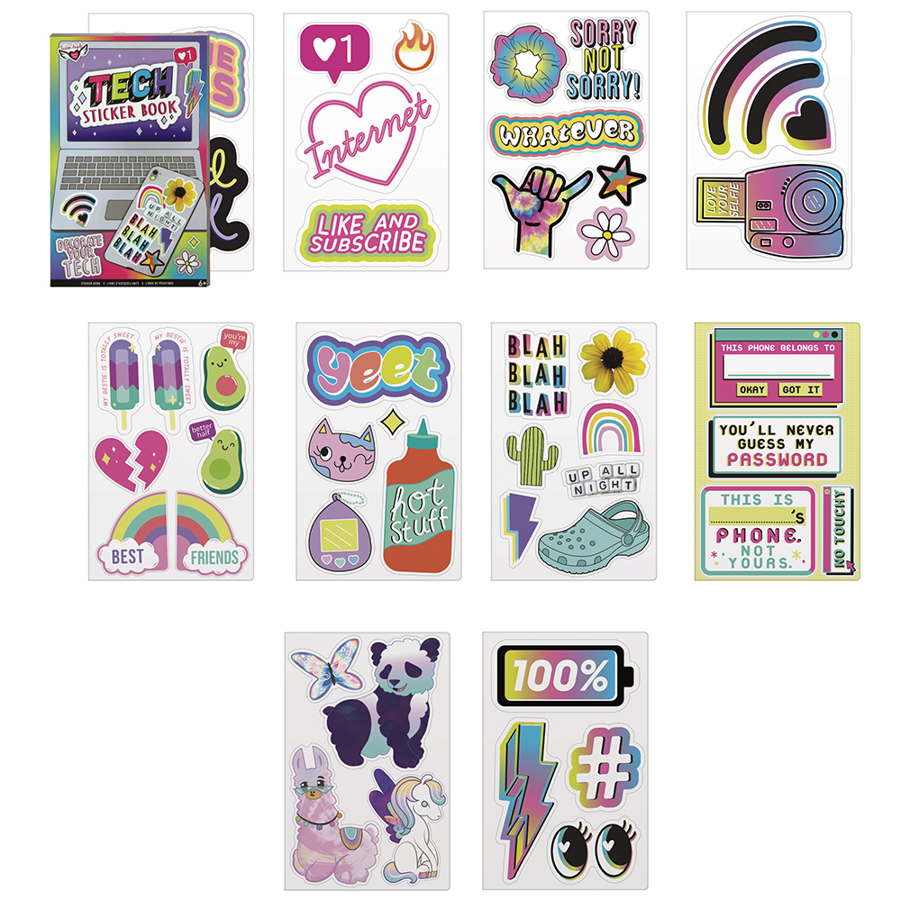 Fashion Angels- Tech Sticker Book