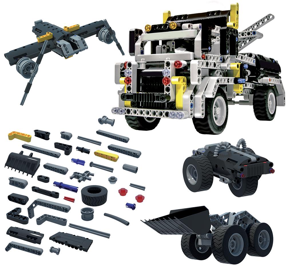 Science Hi-Tech- 50in1 Contruction vehicles Technics