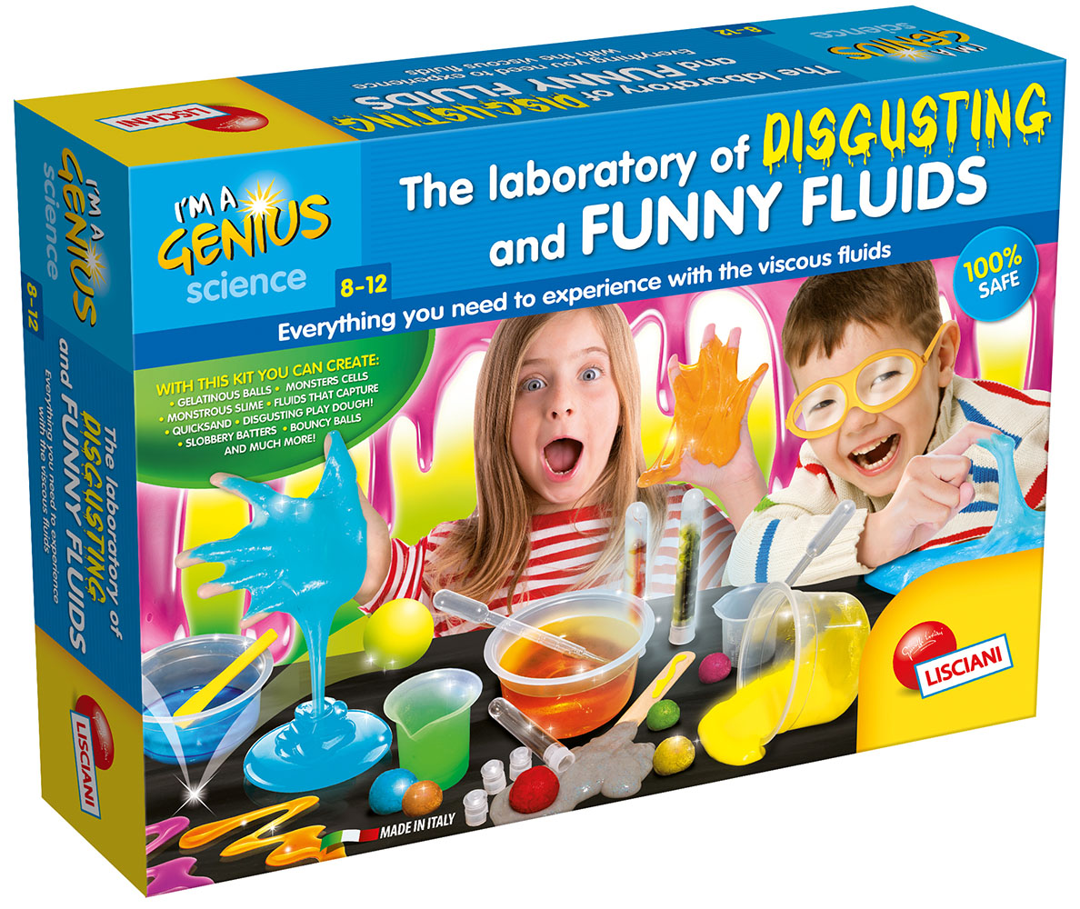 I'm a genius The laboratory of disgusting and Funny Fluids English version