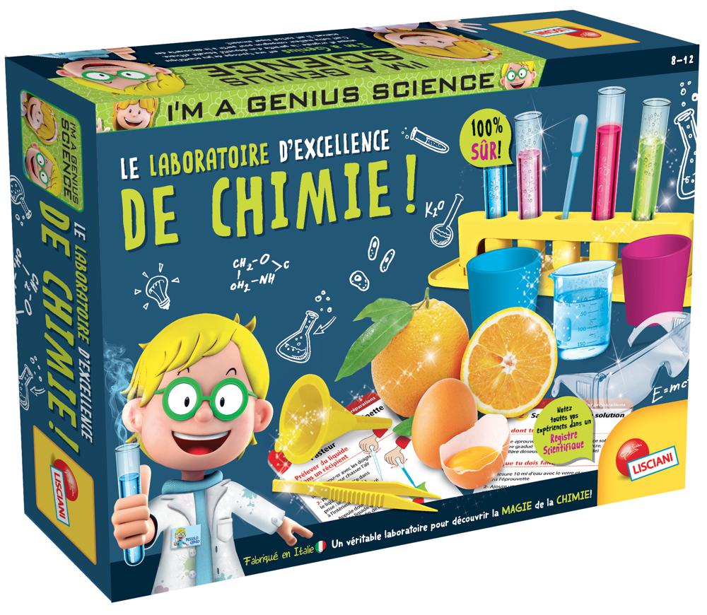 I'm a Genius - Laboratory Chemistry with top mark French version