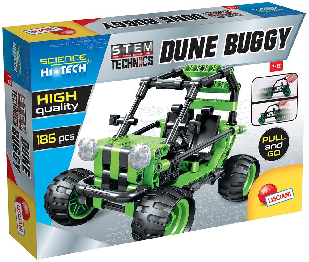 Science Hi-Tech -Pull & Go Dune Buggy Technics 186 pieces