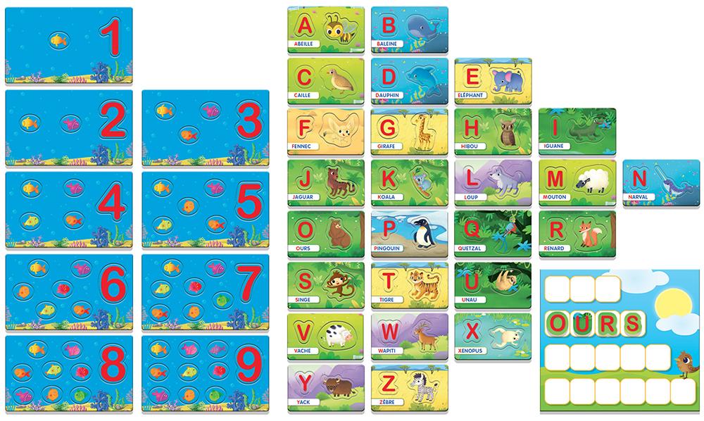 Carotina - Alphabet mots et chiffres French version