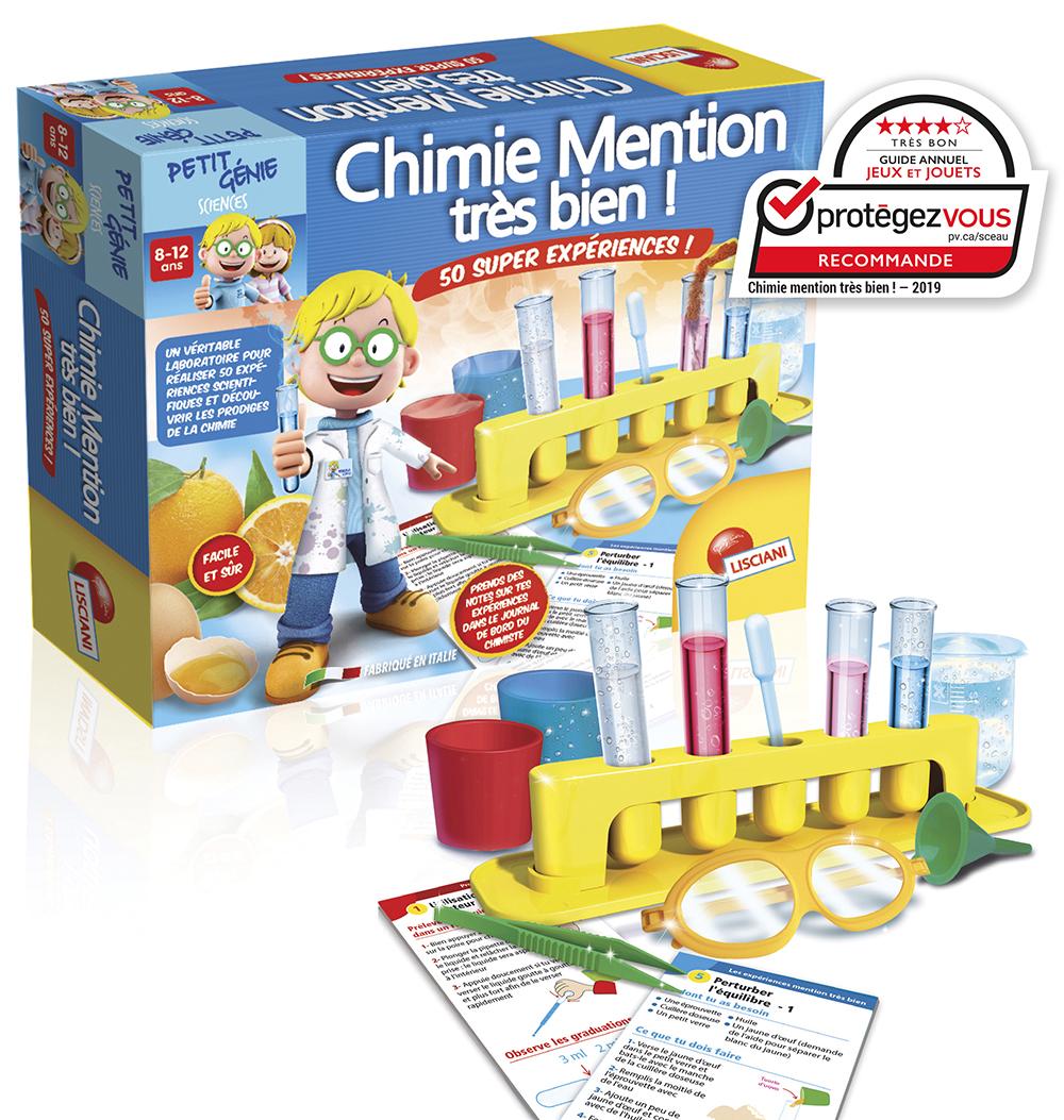 I'm a genius Chimie Mention très bien 50 expériences French version