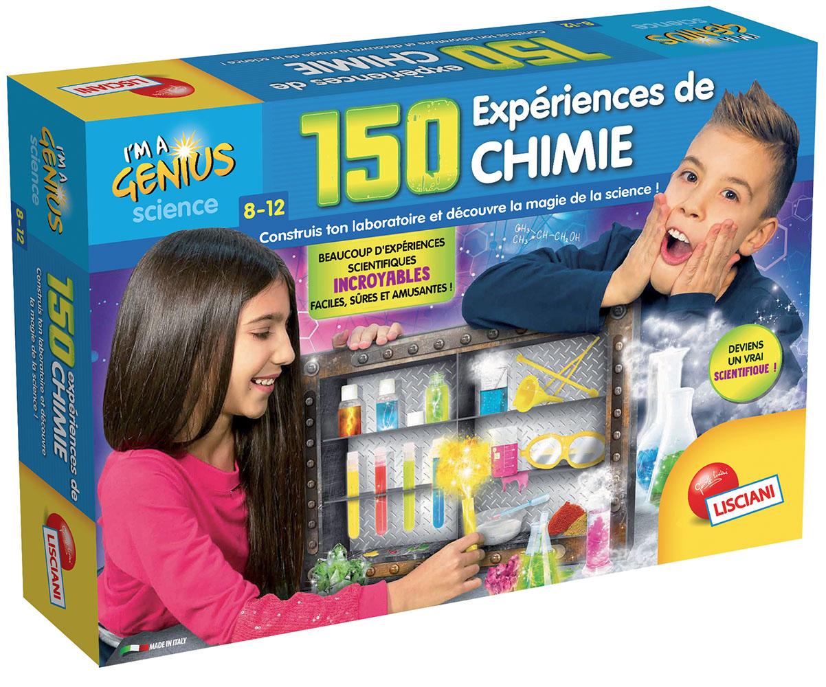 I'm a Genius - 150 expériences de chimie French version