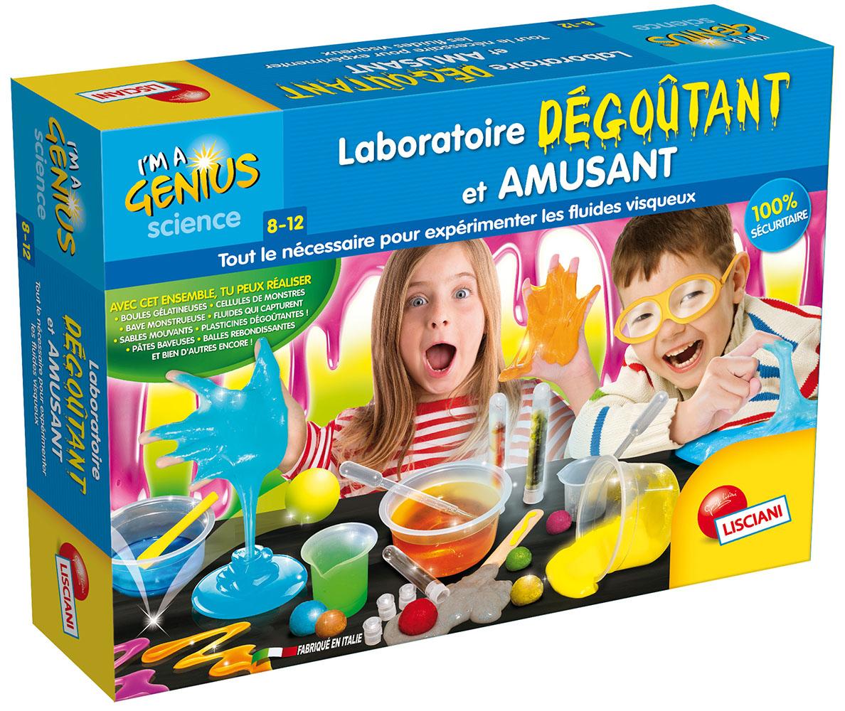 I'm a genius Laboratoire dégoutant et amusant French version