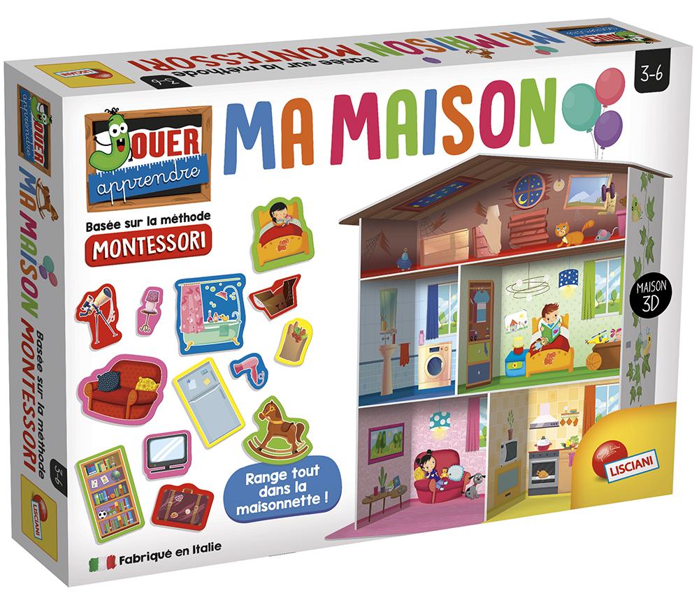 Montessori - Ma Maison French version
