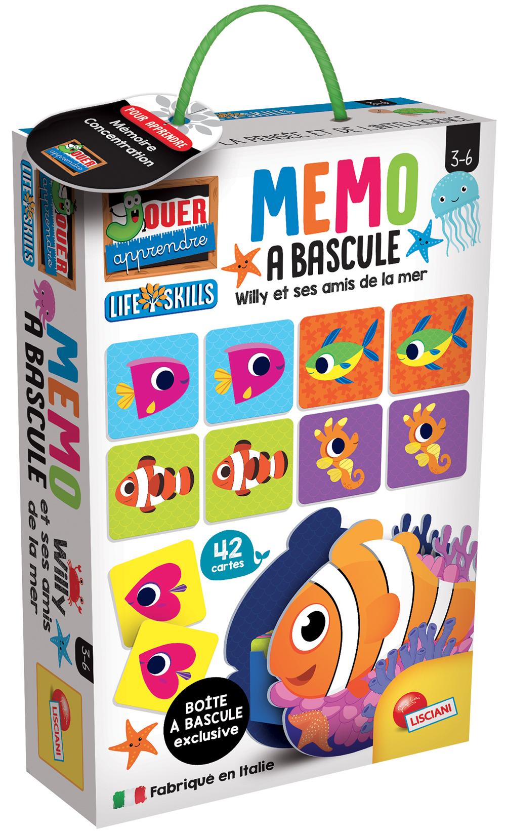 Jouer Apprendre - Mémo à bascule La mer French version