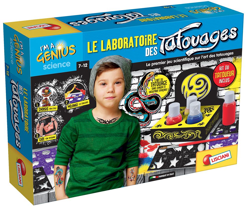 I'm a genius Le laboratoire des tattoos French version
