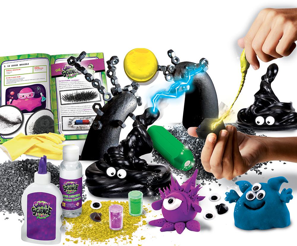 Crazy Science Fluides et créatures magnétiques French version