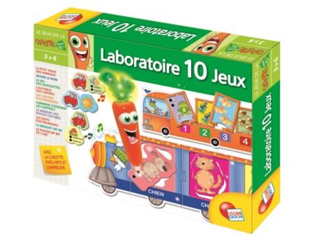 Carotina Magique 10 Games Le Laboratoire french version