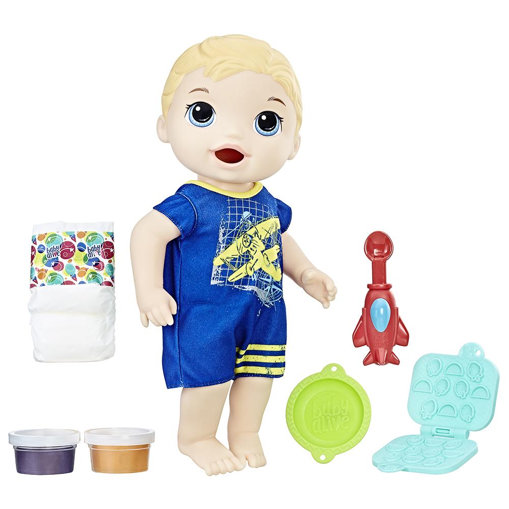 Baby alive Luc bébé glouton blond