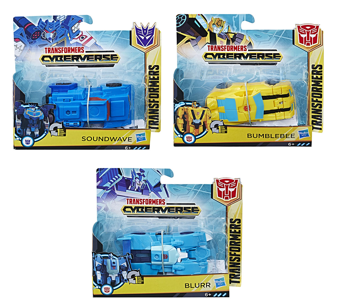 Transformers - Cyberverse 1-Step Changer assorted