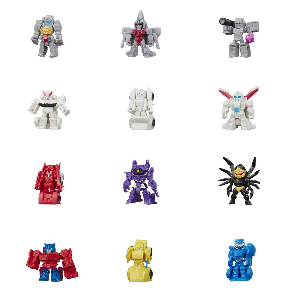 Transformers - Cyb tiny turbo changers assorted