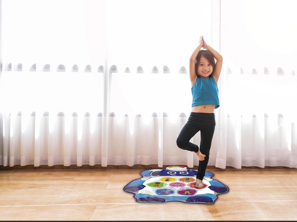 Infini Fun - Bitsy Bot Yoga Mat French version