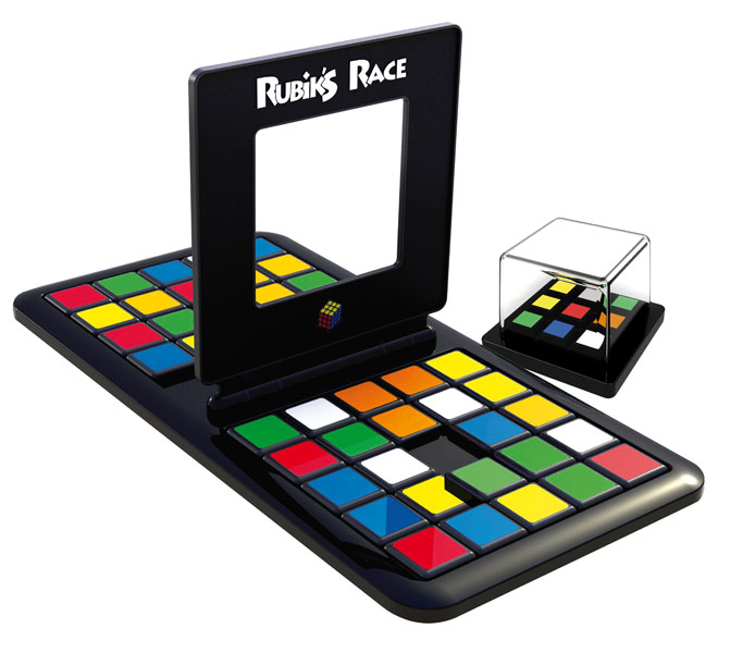 Game Rubik's race