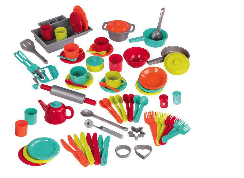 Battat - Deluxe Kitchen Playset 71 pieces