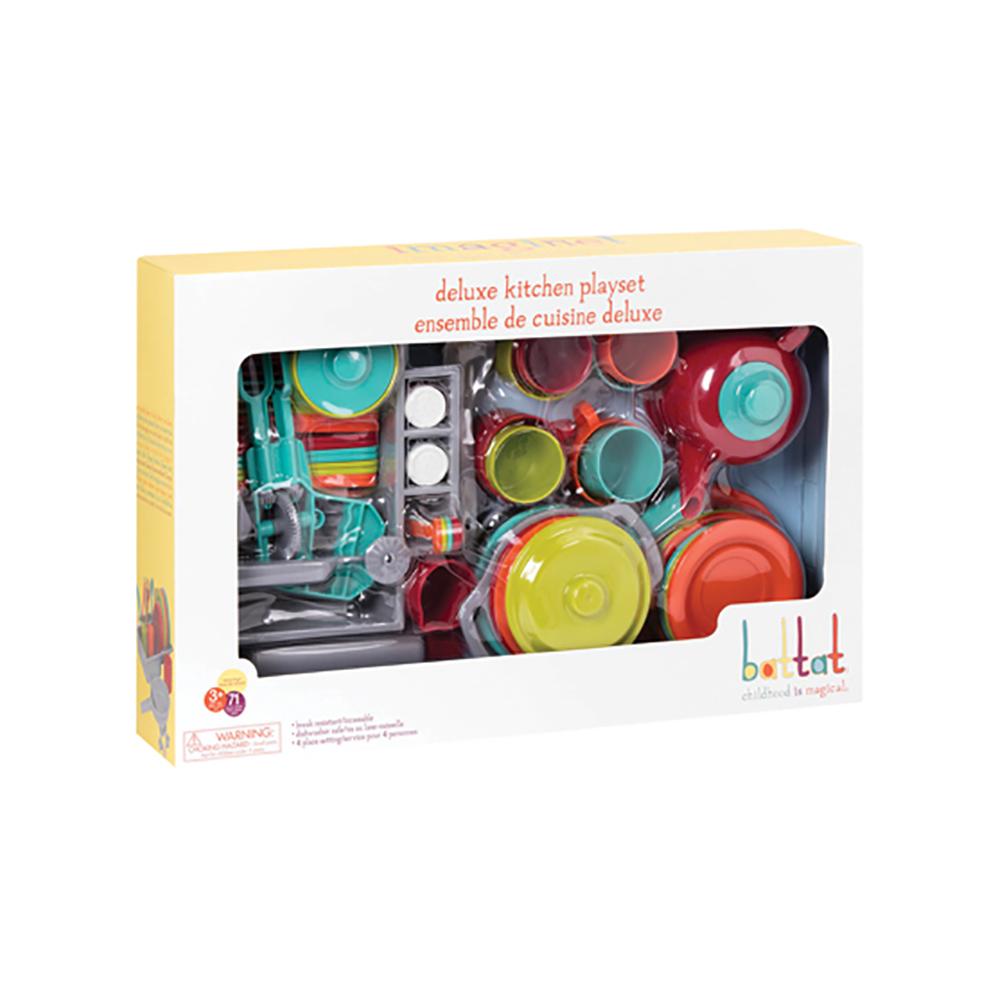 Deluxe Kitchen Playset 71 pieces