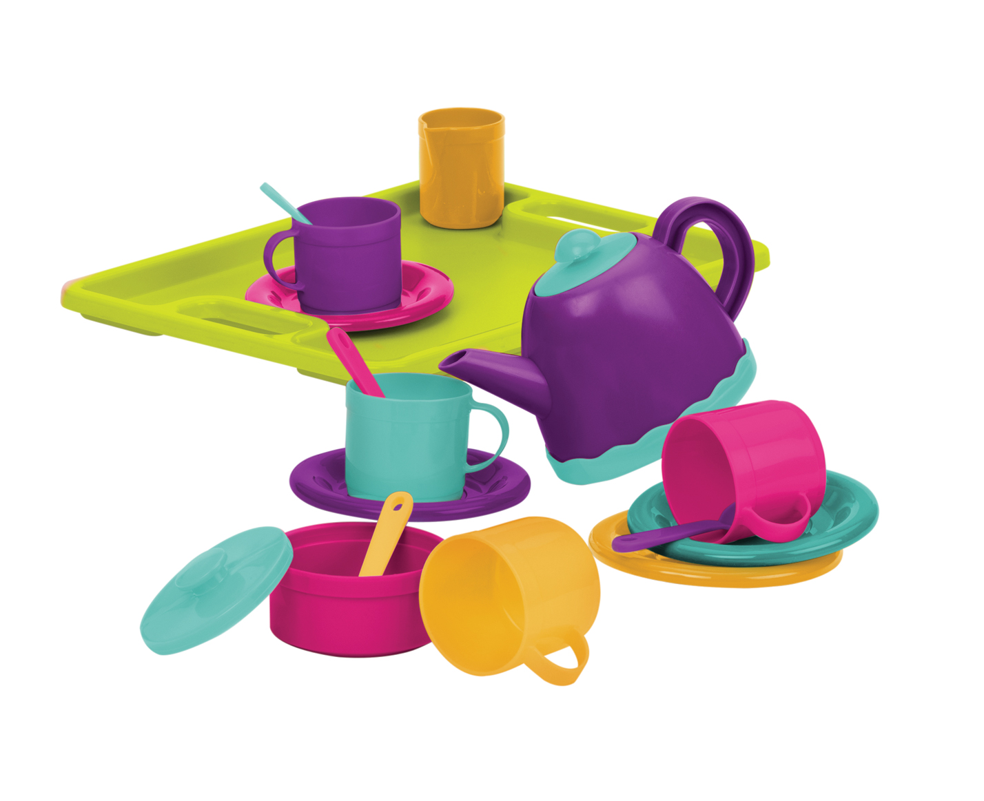Tea Party for 4, 18 pieces