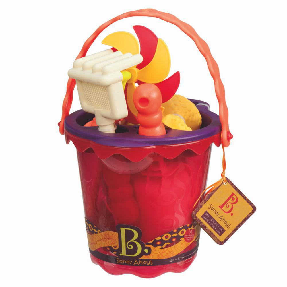 B. Active - Bucket and Accessories Sand Ahoy! Mango