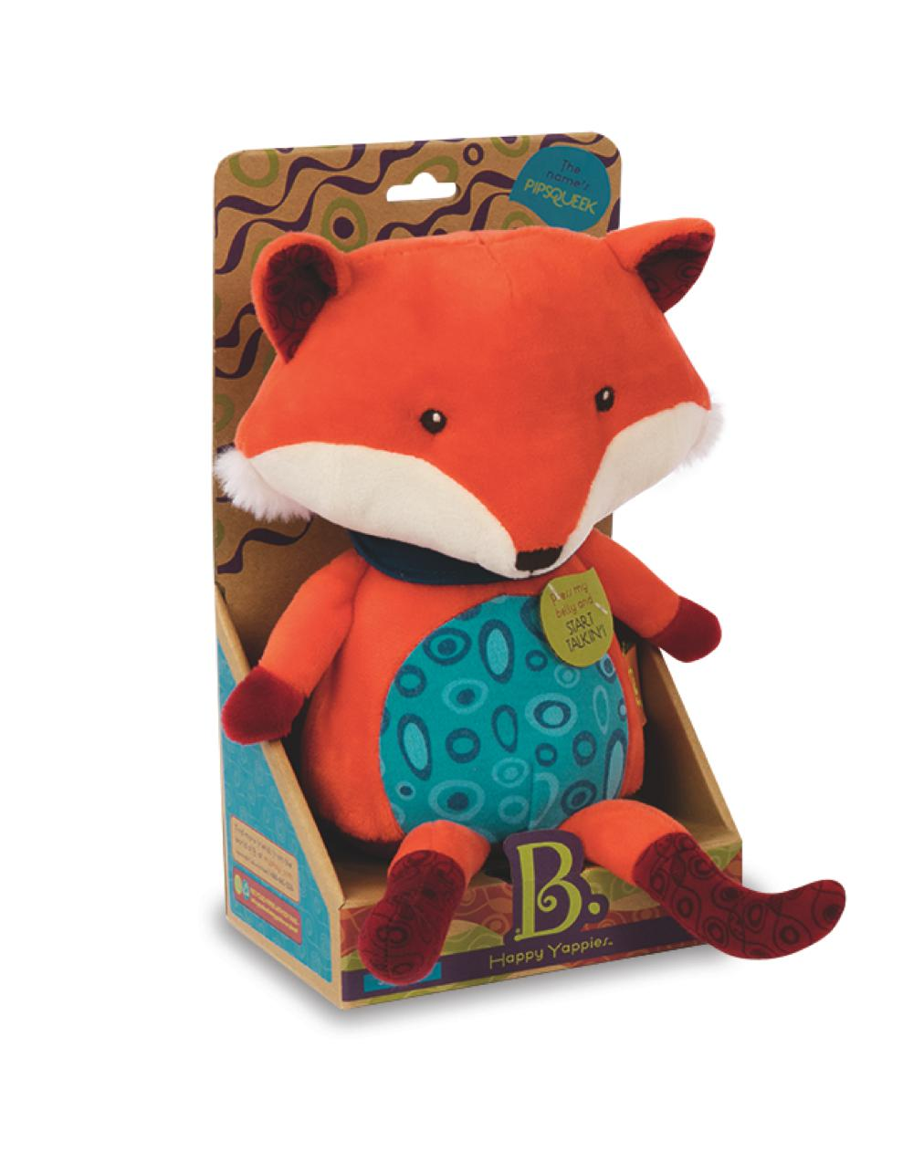 B.Lively - Happy Yappies Pipsqueak the Fox